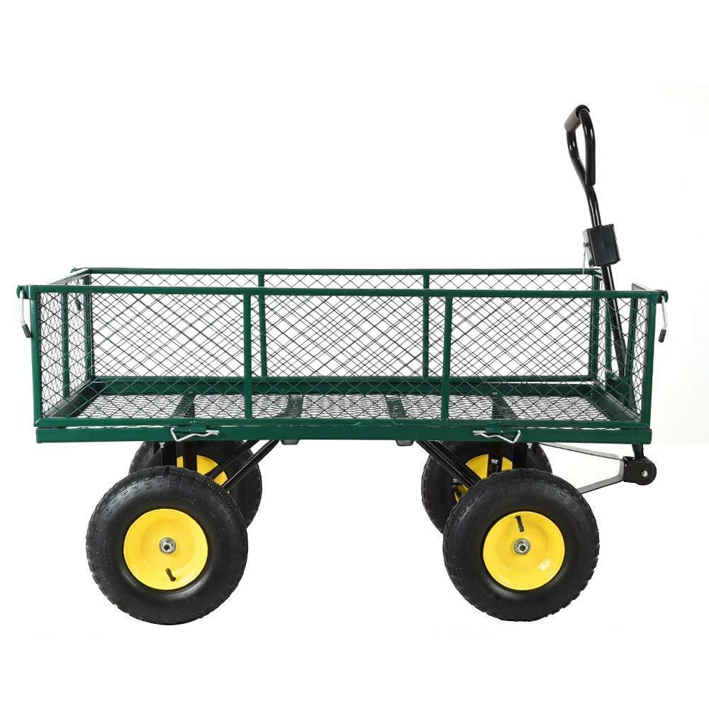 les 3 meilleurs chariots de jardin 4 roues du moment. Black Bedroom Furniture Sets. Home Design Ideas
